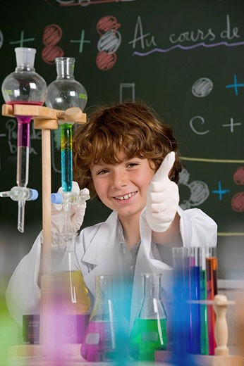 CHEMISTRY TEACHING Model. : Stock Photo