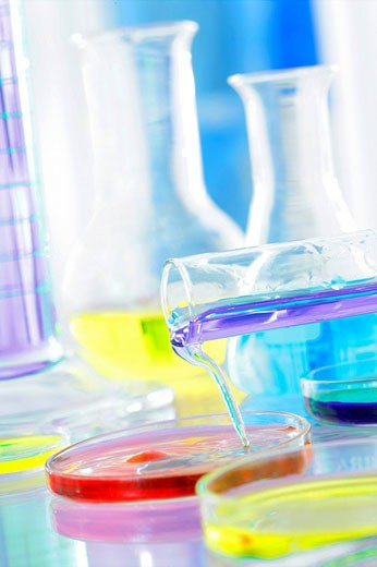 Stock Photo: 824R-6091 LABORATORY MATERIAL