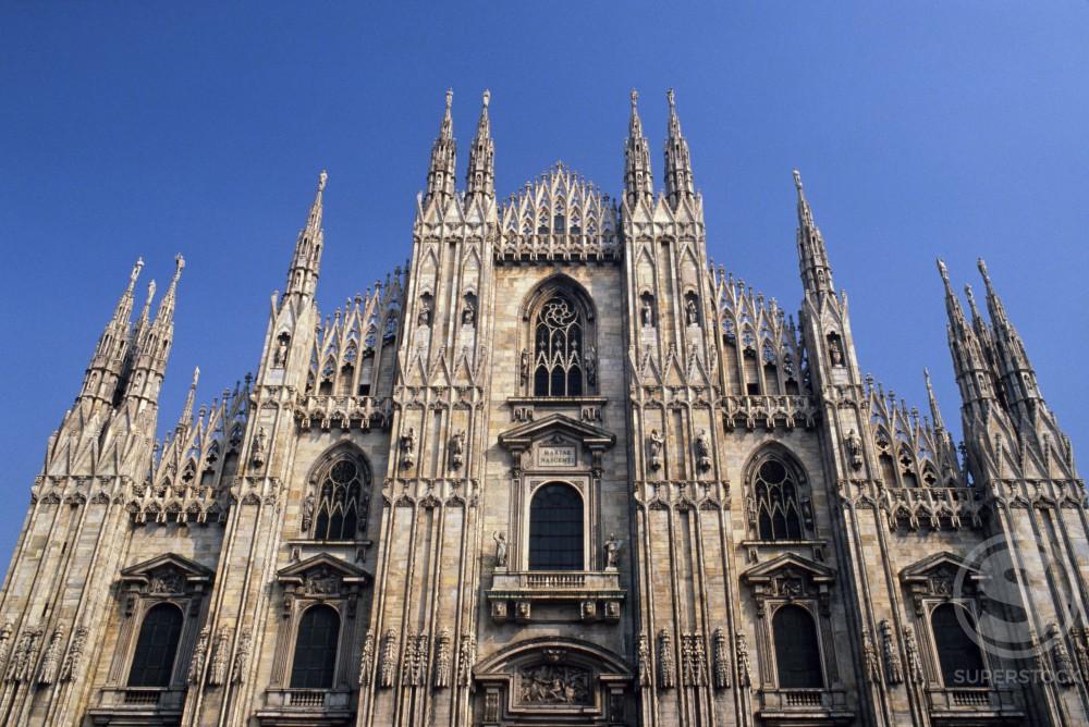 Stock Photo: 836-106 Duomo  Milan    Italy