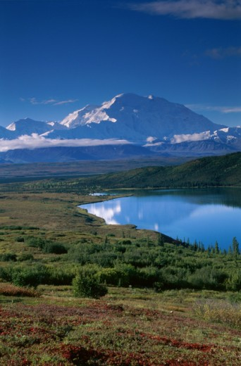 Stock Photo: 837-1142A Mount McKinley