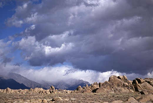 Stock Photo: 84-1941L Alabama Hills