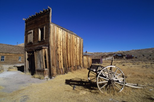 Stock Photo: 84-3097 Swazey Hotel, Bodie State Historic Park, California, USA