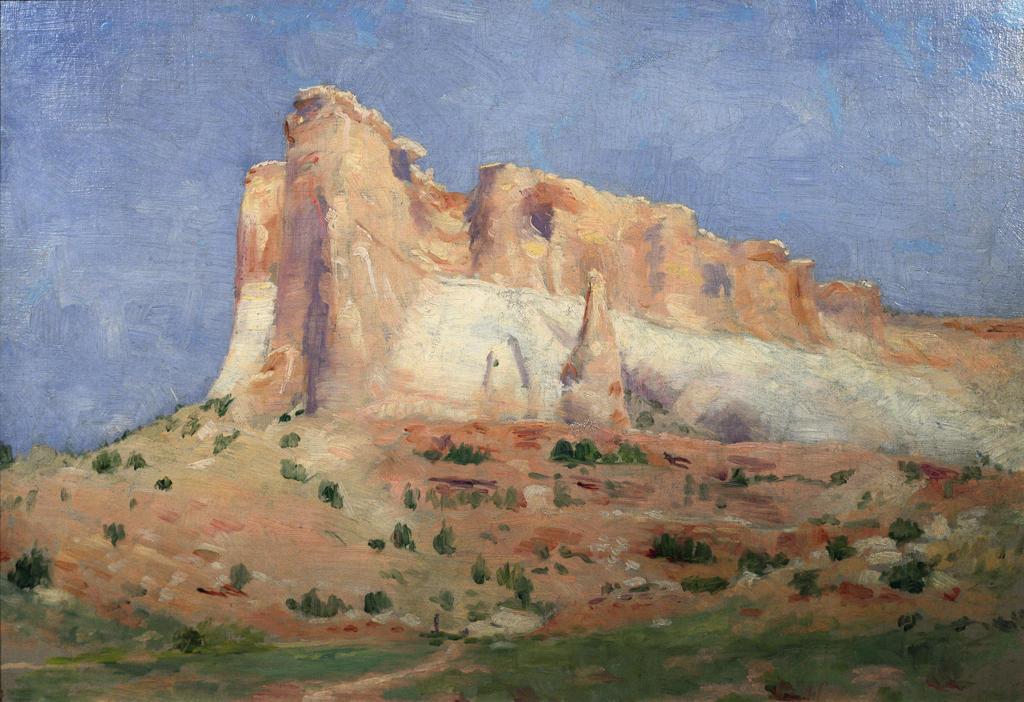 Stock Photo: 849-10148 Foy-al-Lon-Eu  Frank Reed Whiteside (1866-1929/American)  Oil on canvas David David Gallery, Philadelphia