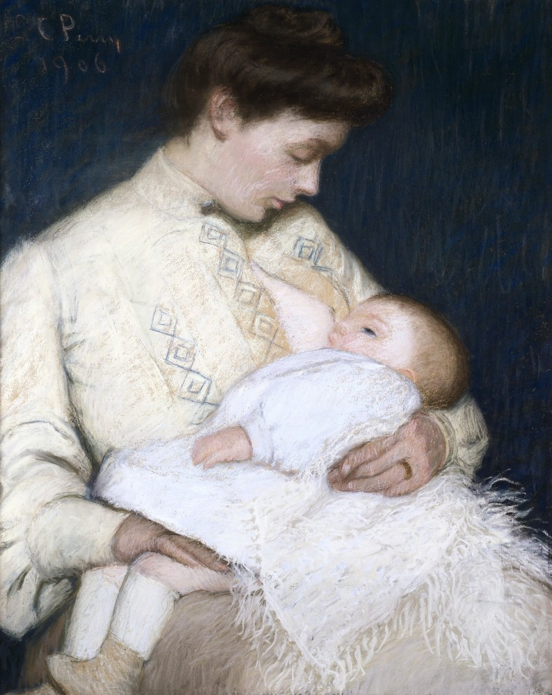 Stock Photo: 849-10255 Nursing the Baby
