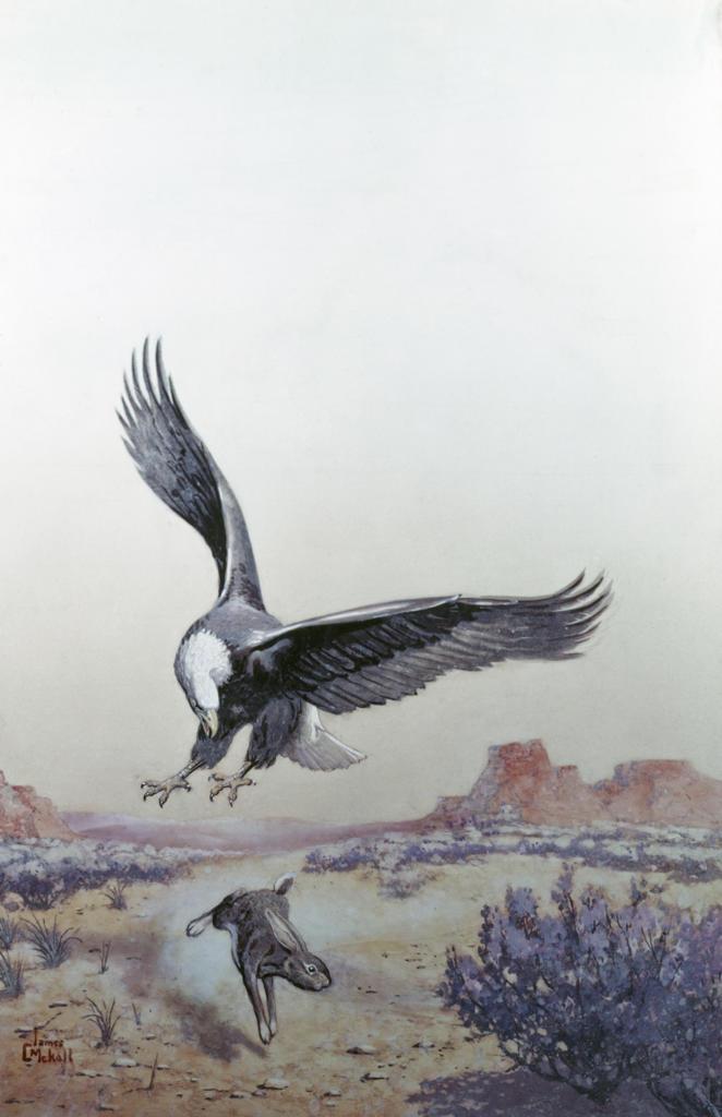 Stock Photo: 849-10389 Closing In by James Cook Mckell,  Painting,  (19th C),  USA,  Pennsylvania,  Philadelphia,  David David Gallery