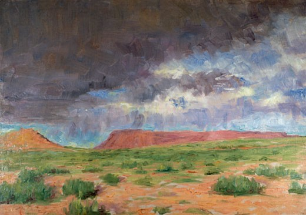 Stock Photo: 849-10419 Purple Bluff Frank Reed Whiteside (1866-1929 American) David David Gallery, Philadelphia