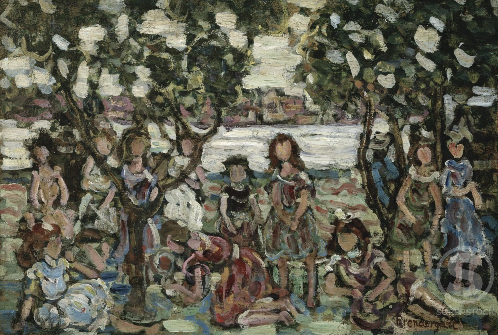 Stock Photo: 849-10784 Holiday - The Picnic 