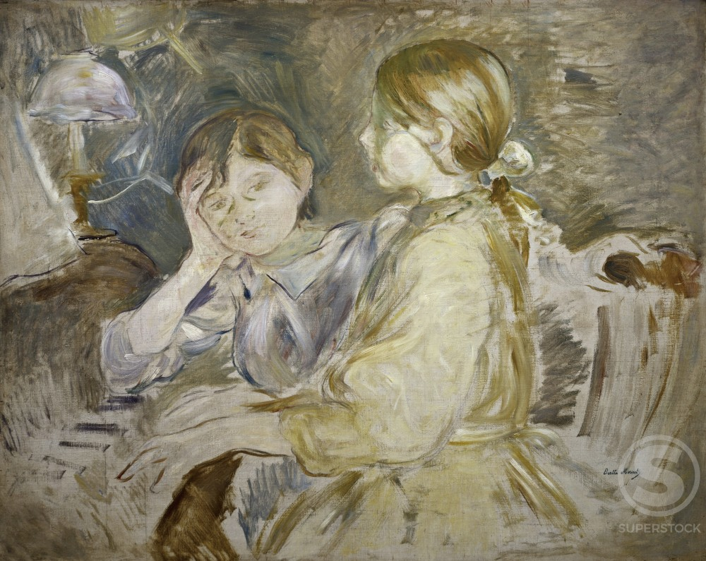Stock Photo: 849-10844 The Piano Lesson