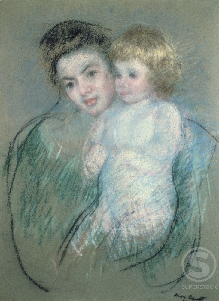 Stock Photo: 849-10884 Mother and Child 
