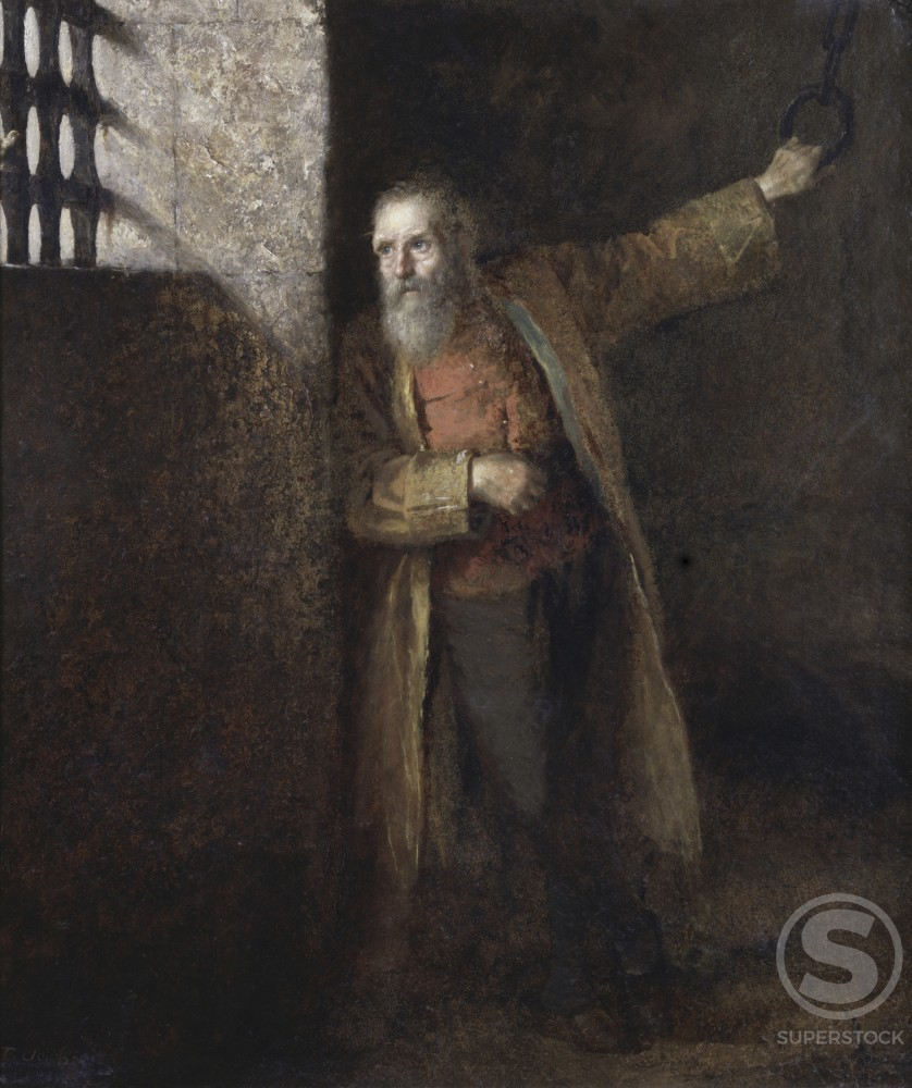 Stock Photo: 849-10894 Prisoner of the State