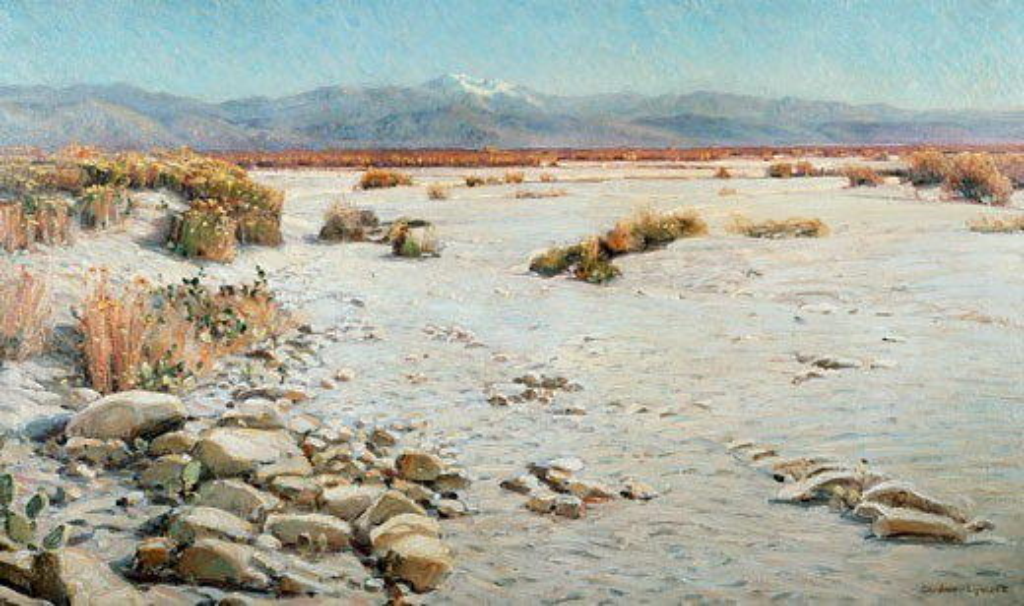 Stock Photo: 849-11158 Desert Silence Gardener George Symons (1863-1930 American) David David Gallery, Philadelphia, USA