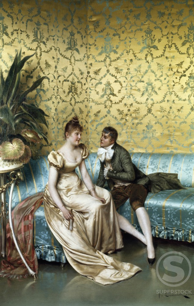 Stock Photo: 849-11188 The Proposal