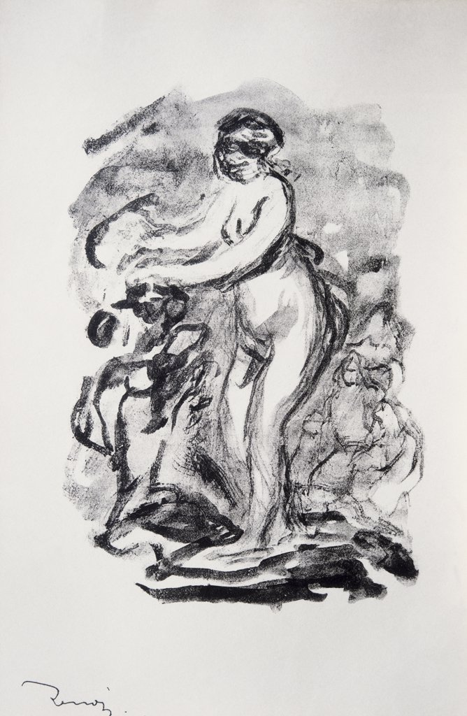 Stock Photo: 849-11360 The Bather