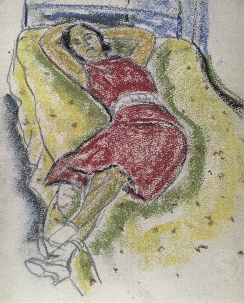 Stock Photo: 849-11600 Early Evening Rest 
