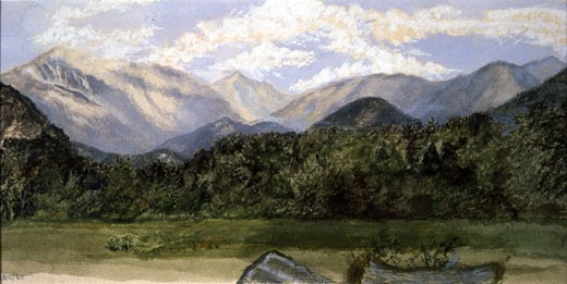 Stock Photo: 849-11632 White Mountains, New Hampshire