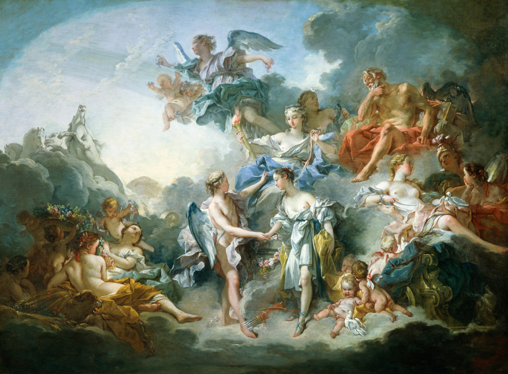 Stock Photo: 862-1000 The Marriage of Cupid and Psyche 