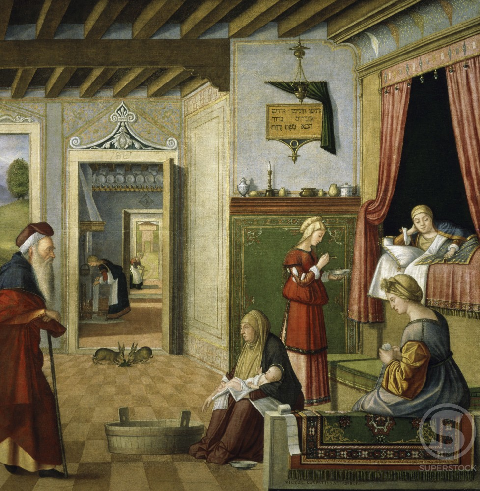 Stock Photo: 862-1018 Birth of the Virgin Mary