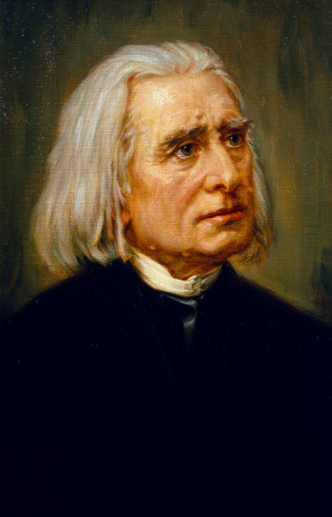 Stock Photo: 862-1024 Franz Liszt