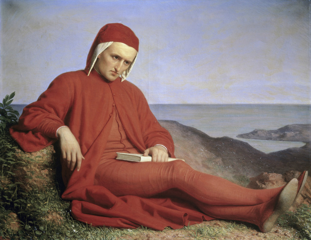 Stock Photo: 862-1041 Dante in Exile