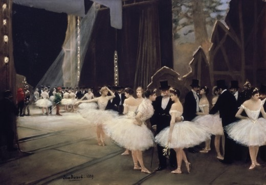 In the Wings at the Paris Opera 