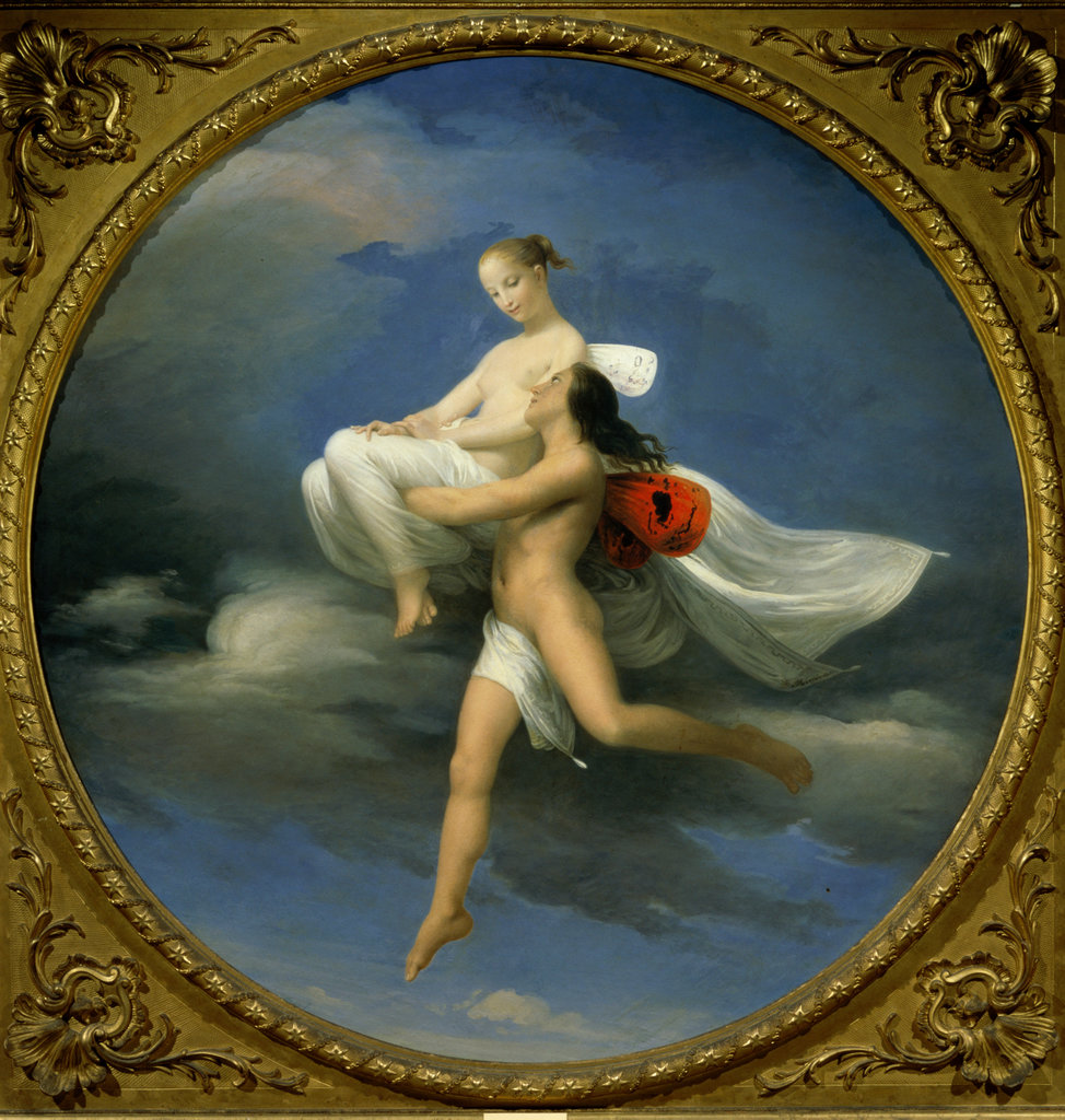 Stock Photo: 862-1052 Psyche Carried Off by Zephyr 