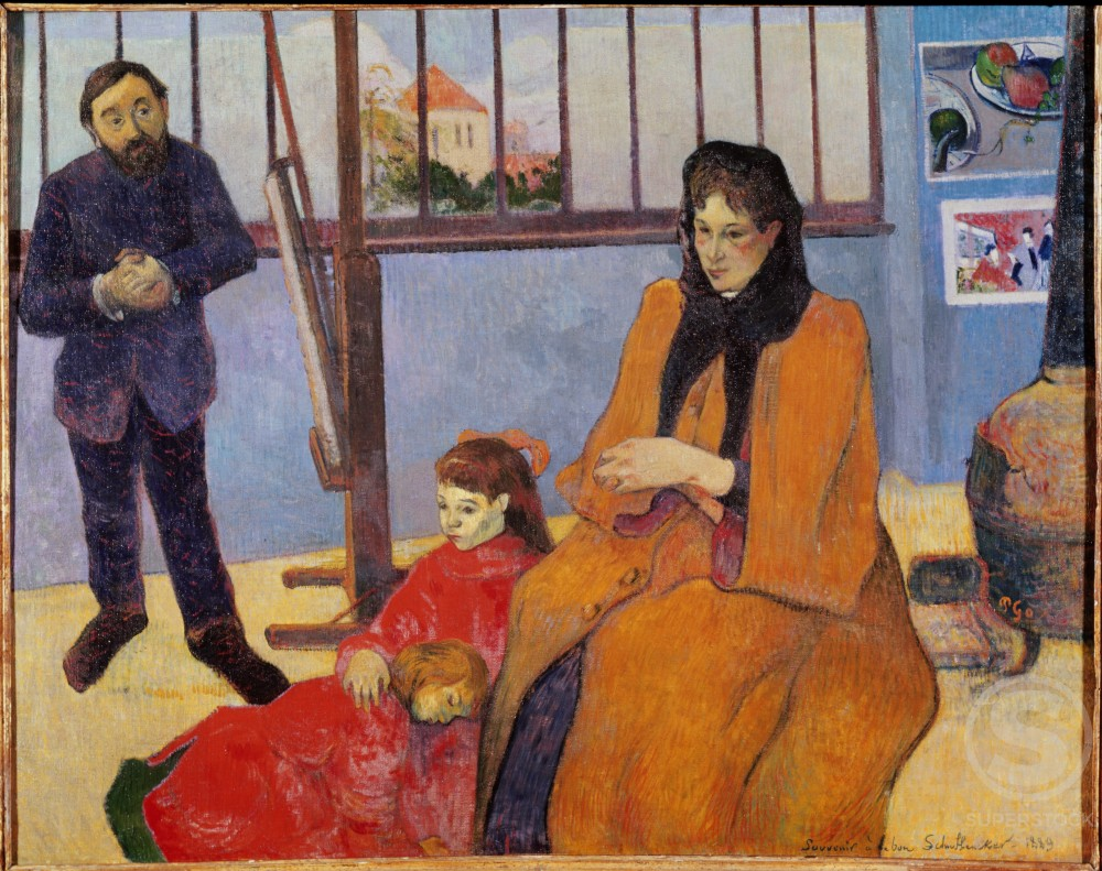 Stock Photo: 862-1057 Family Schnuffenecker