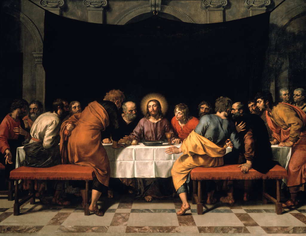 Stock Photo: 862-1102 The Last Supper 