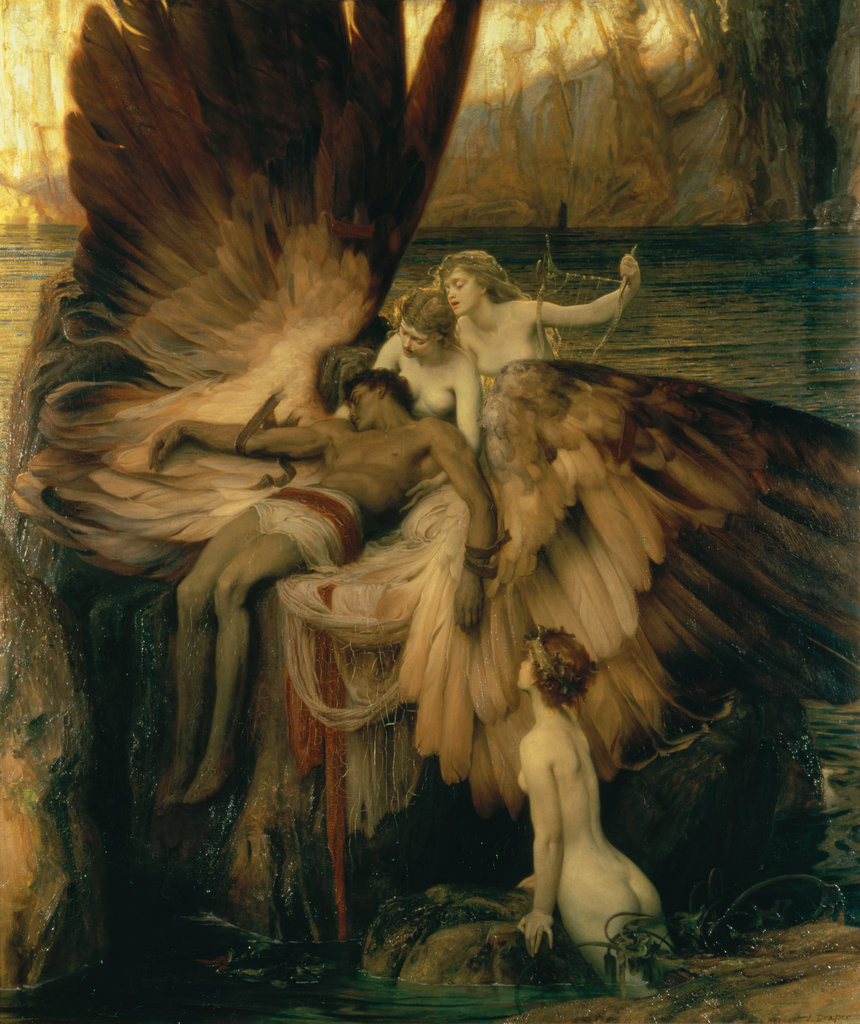 Stock Photo: 862-1110 Lament For Icarus