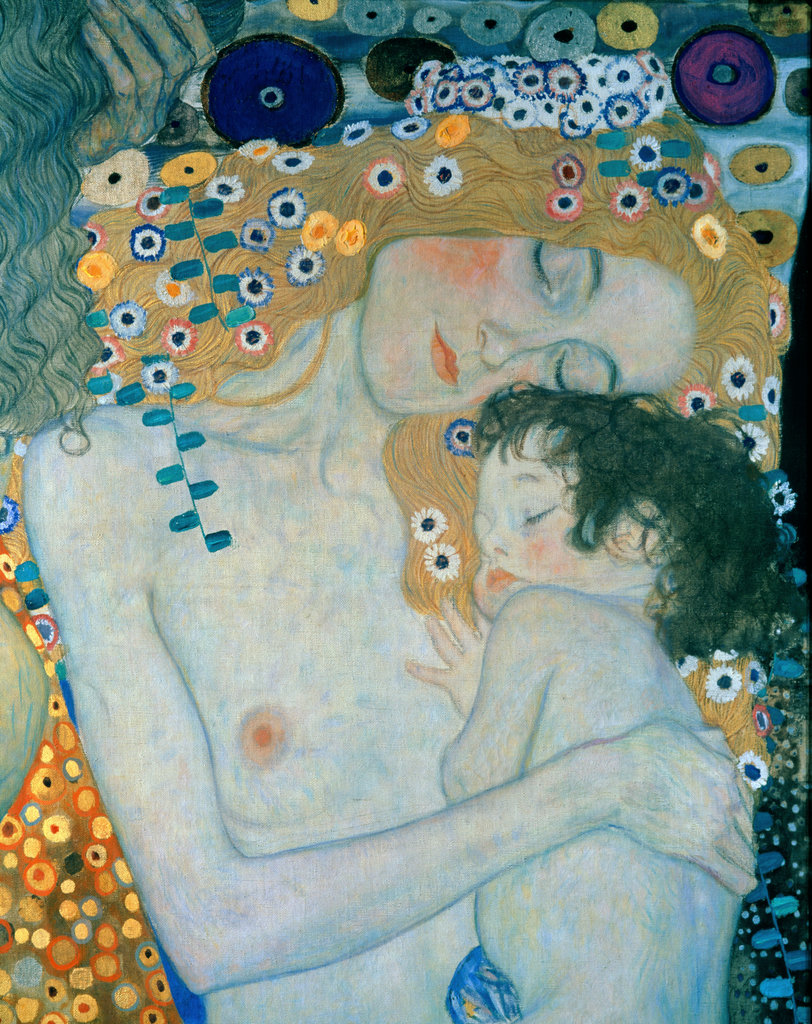 Stock Photo: 862-1114 The Three Ages of Woman (Detail) 