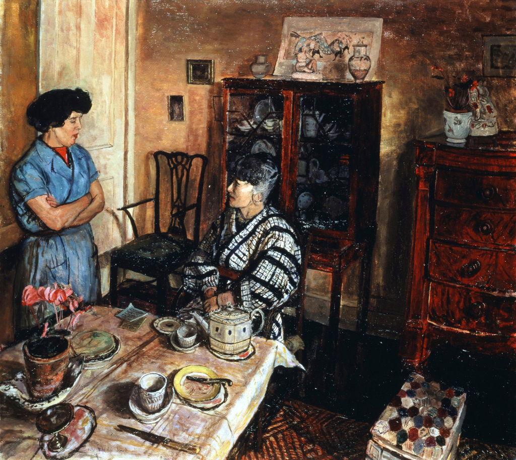 Stock Photo: 862-1123 Interior 1969 Carel Victor Morlais Weight (1908-1997 British) Herbert Art Gallery, Bristol