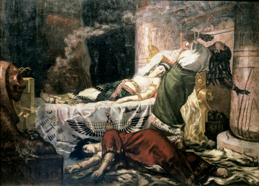 Stock Photo: 862-1127 The Death of Cleopatra