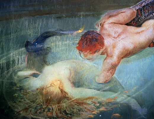 Green Abyss Or Death Of Ophelia, The 