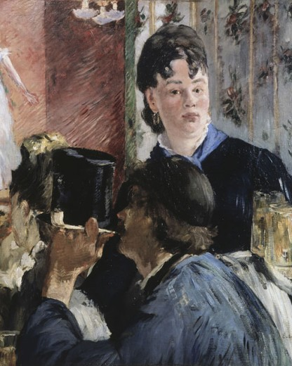Stock Photo: 862-1166 The Waitress