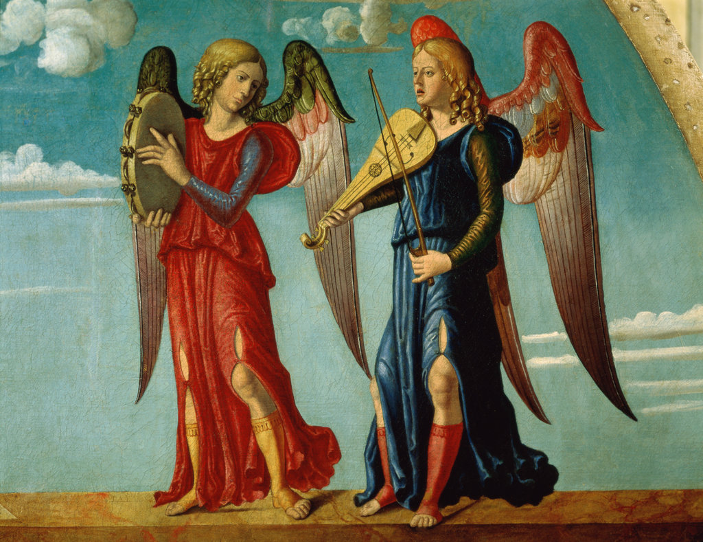 Stock Photo: 862-1167 Musical Angels 