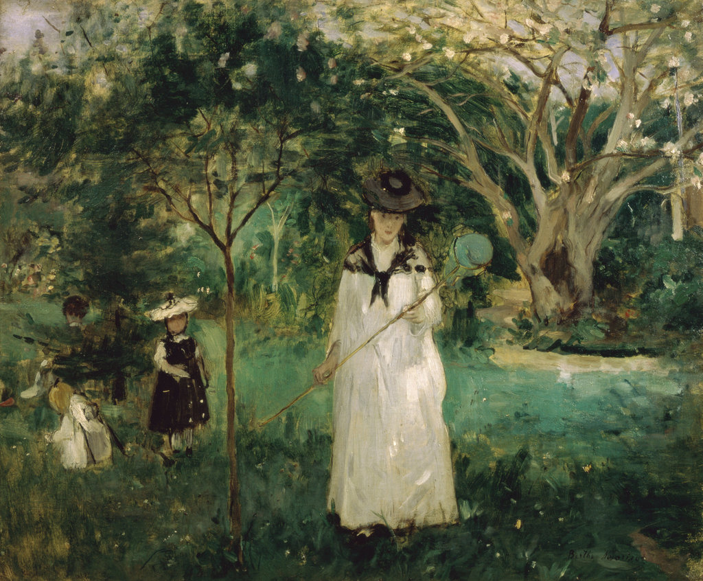 Stock Photo: 862-1168 The Butterfly Hunt