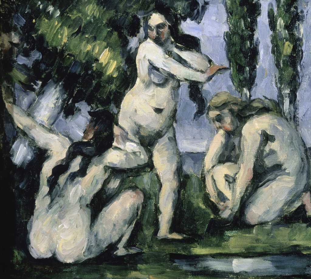 Stock Photo: 862-1177 Three Bathers