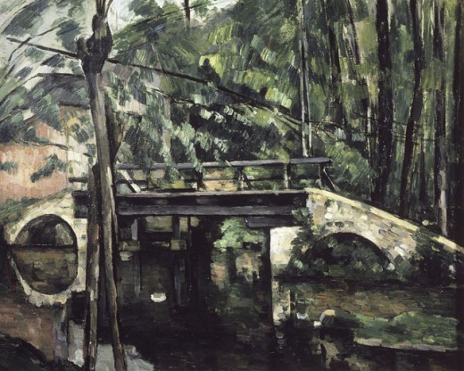The Bridge of Maincy near Melun
