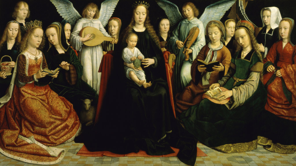 Madonna and Child and Saints from Convent of Sion
