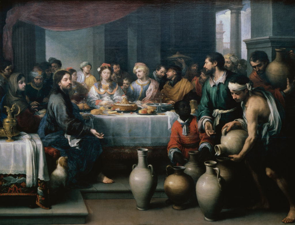 Stock Photo: 862-1215 Marriage Feast at Cana 