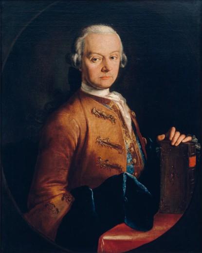 Stock Photo: 862-1223 Mozart, Leopold  1765 Lorenzoni, Pietro Antonio(1721-1782 ) Mozart International Museum, Salzburg, Austria