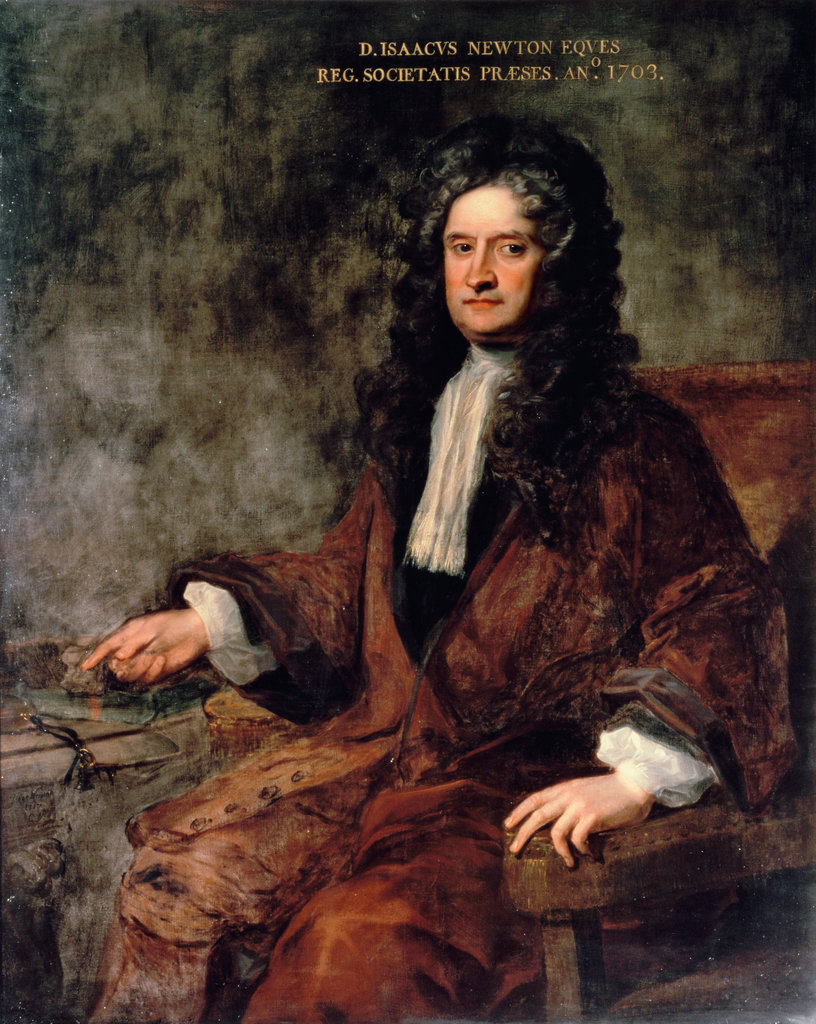 Stock Photo: 862-1228 Sir Isaac Newton