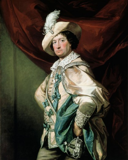 Henry Woodward As Petruchio In Taming Of The Shrew