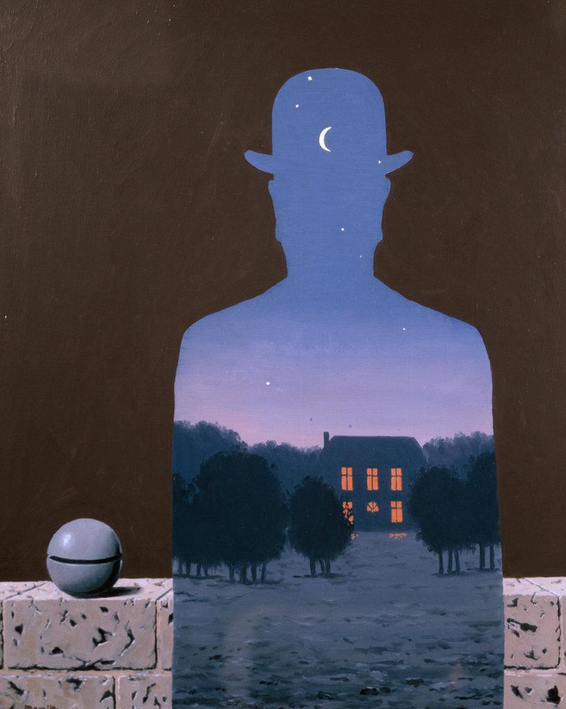 L'eureux Donateur Rene Magritte (1898-1967 Belgian) : Stock Photo