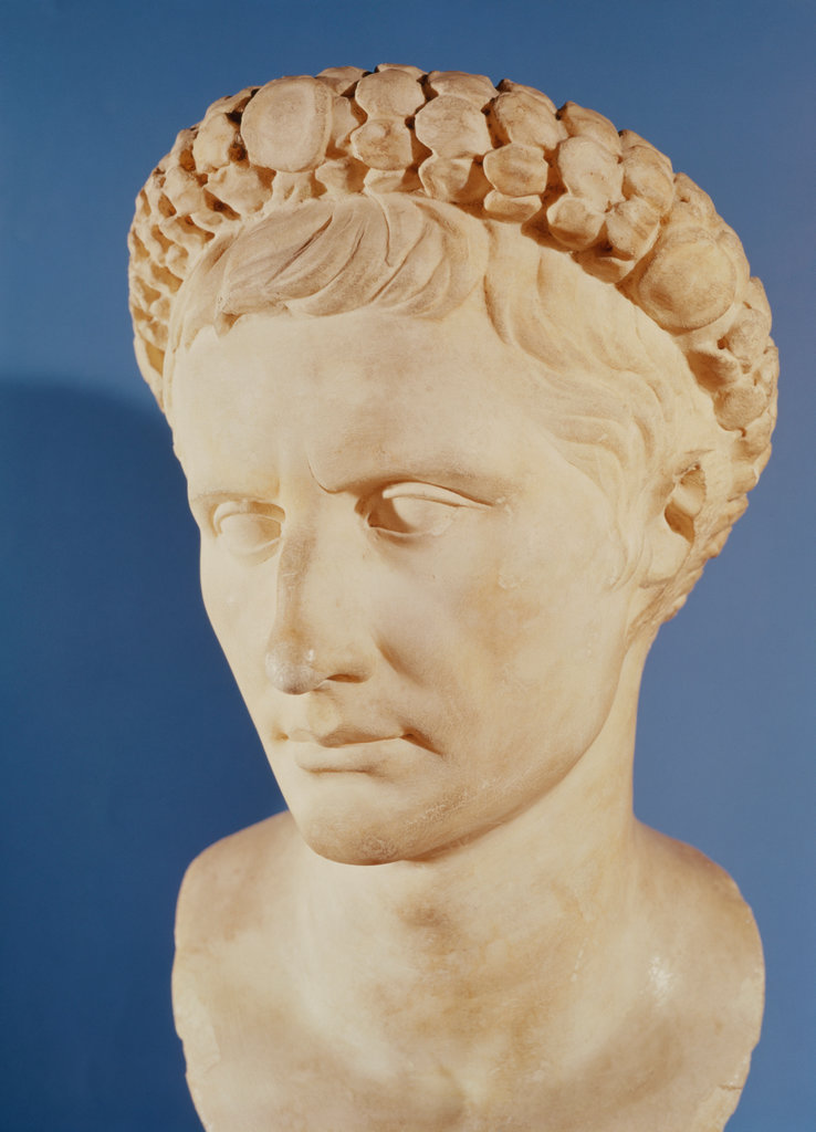 Stock Photo: 862-1269 Bust of Augustus