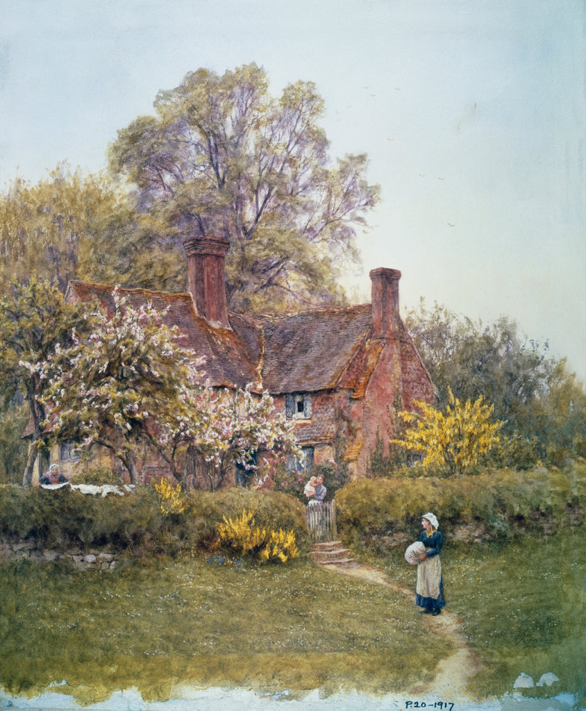 Stock Photo: 862-1271 Cottage At Chiddingfold, Surrey 