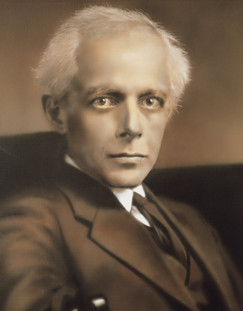 Portrait of Bela Bartok