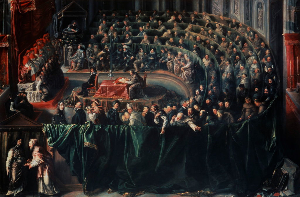 Stock Photo: 862-1282 Galileo on Trial in Rome