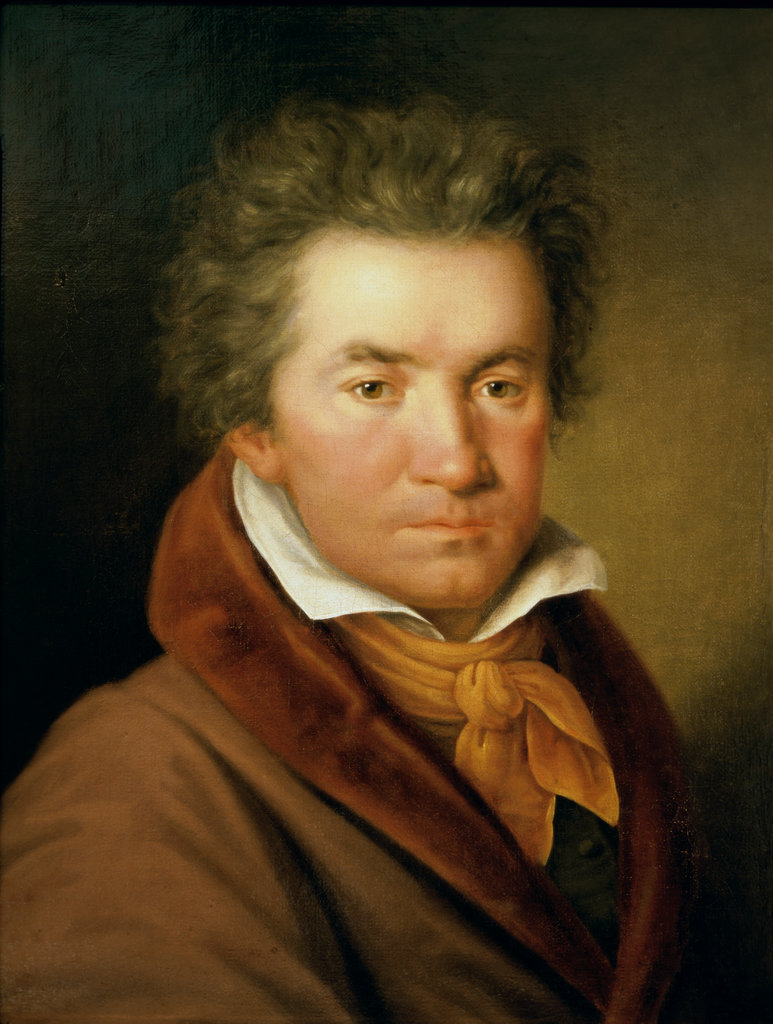 Stock Photo: 862-1294 Ludwig van Beethoven