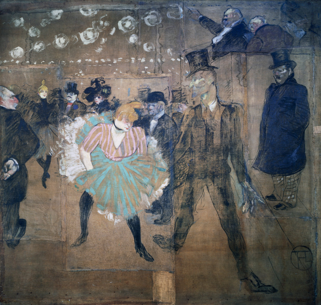 The Dance at the Moulin Rouge