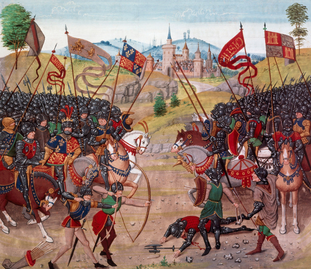 Stock Photo: 862-1334 The Battle of Najera